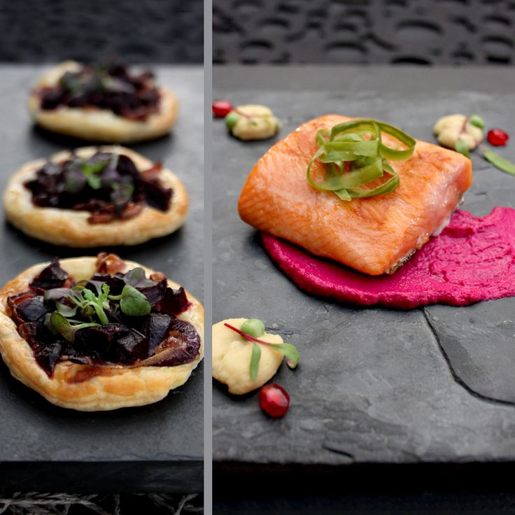 Posh Nosh l Freshly Blogged. For this fine dining challenge we could use Sea Harvest Salmon Trout Fillets, lentils, beetroot, cream cheese, cucumber and puff pastry, see what I created here: http://freshlyblogged.co.za/recipe/haute-gastronomy-colour-chic/
