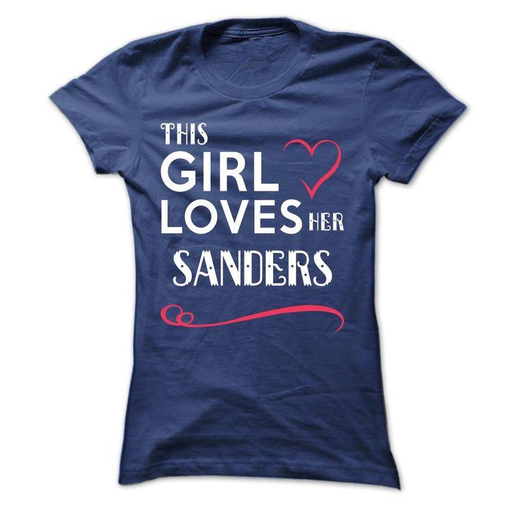 This girl loves her SANDERS
