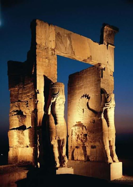 Nation Gate,Persepolis, Shiraz - Iran