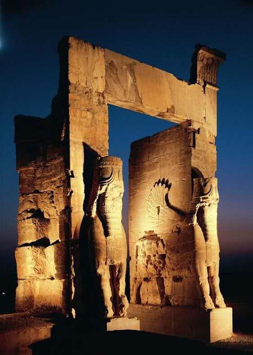 Nation Gate,Persepolis, Shiraz - Iran