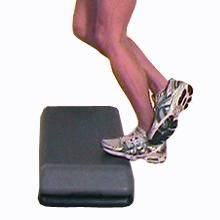 The advanced soleus stretch targets the Soleus muscle which is located in the back of the lower leg, underneath the larger Gastrocnemius muscle.