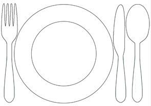 Kids Chores:Printable Table Setting Placemats | Childhood101