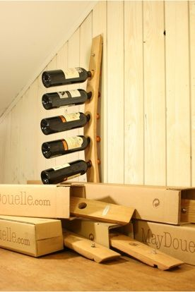porte bouteilles pret tre envoyer ready to be sent wine pinterest to be and simple. Black Bedroom Furniture Sets. Home Design Ideas