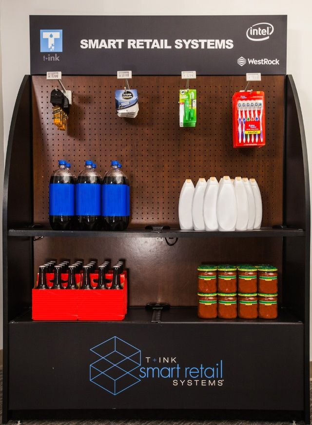 WestRock and T+ink have collaboratively launched the first-ever merchandising display solution to incorporate printed electronic sensors in smart shelves and smart pegs. #iot