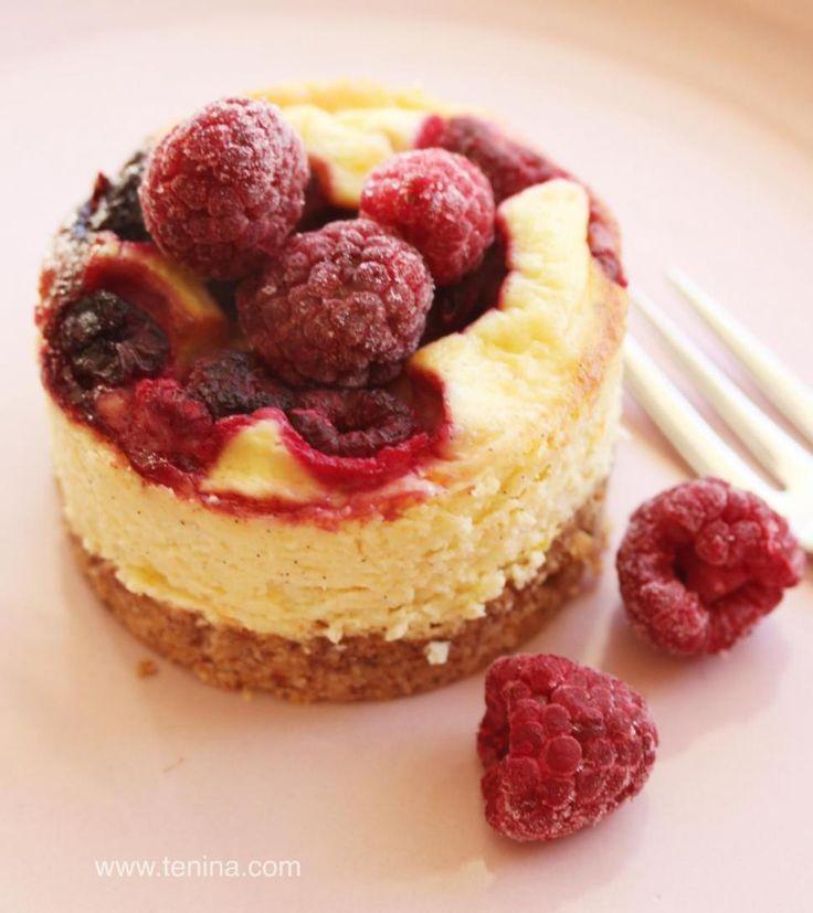 Photo of Low Carb Raspberry Orange Cheesecake