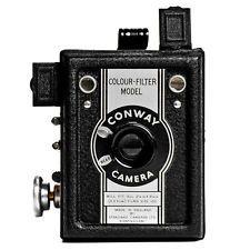 Vintage STANDARD CAMERAS CONWAY COLOUR-FILTER 120 Roll FILM Film BOX CAMERA