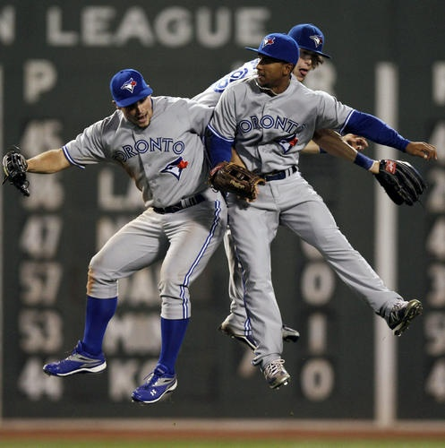 Blue Jays fielding youngest outfield in baseball