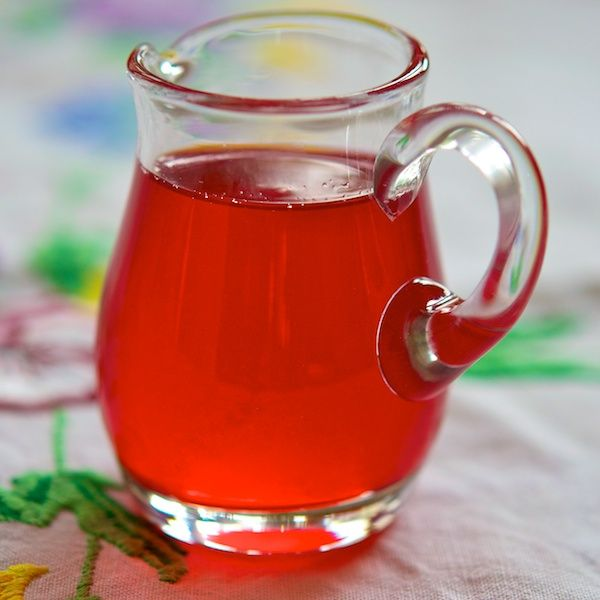 Wild plum syrup from http://extra-relish.com/uncategorized/wild-plum-syrup/