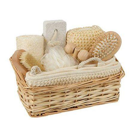 Geschenk set - De set biedt een geweldige selectie van sponzen en borstels in een mooie mand.