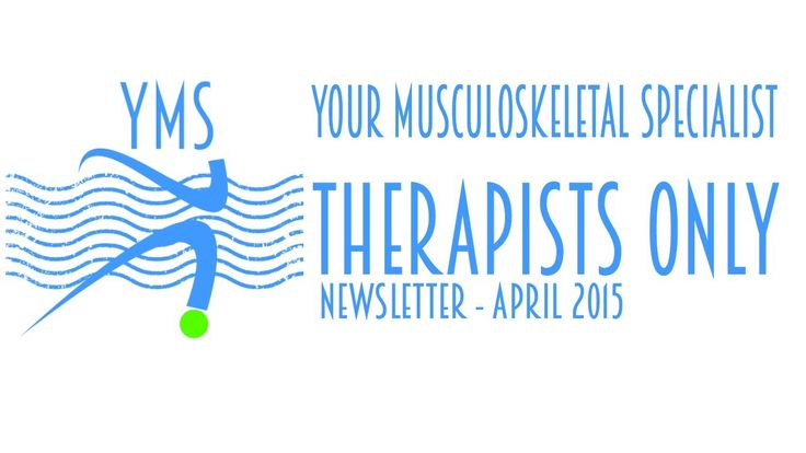 Therapist Only Newsletter - Paula Nutting Your Musculoskeletal Specialist