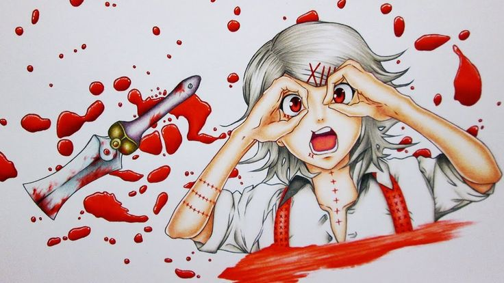 Drawing Juuzou Suzuya || Tokyo Ghoul 東京喰種トーキョーグール