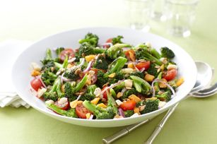 Broccoli-Tomato Salad  Well, it's salad... I get lots of complainments, but I don't eat it LOL ;)