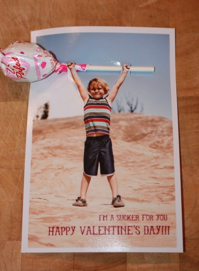 Cool Valentine's card