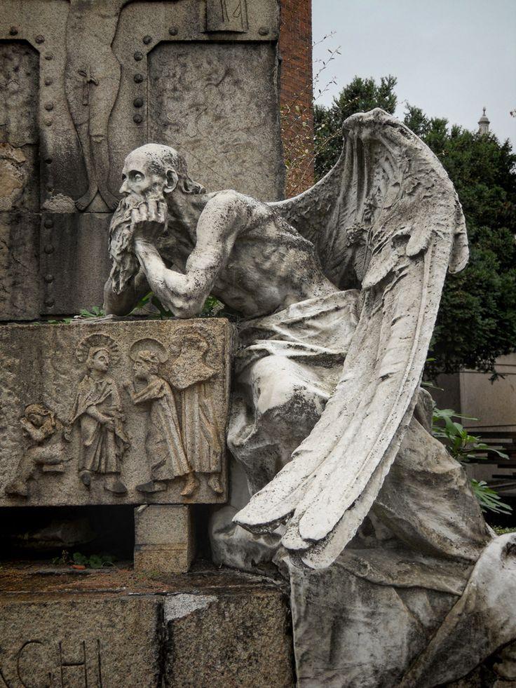 Favoloso Oltre 25 fantastiche idee su Angeli del cimitero su Pinterest  JE77