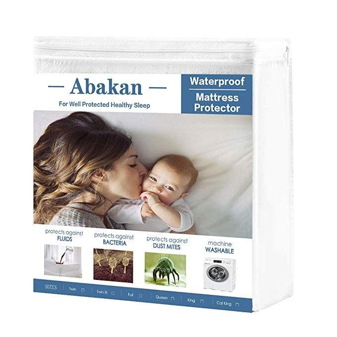 Abakan Queen Mattress Protector Premium Waterproof Breathable