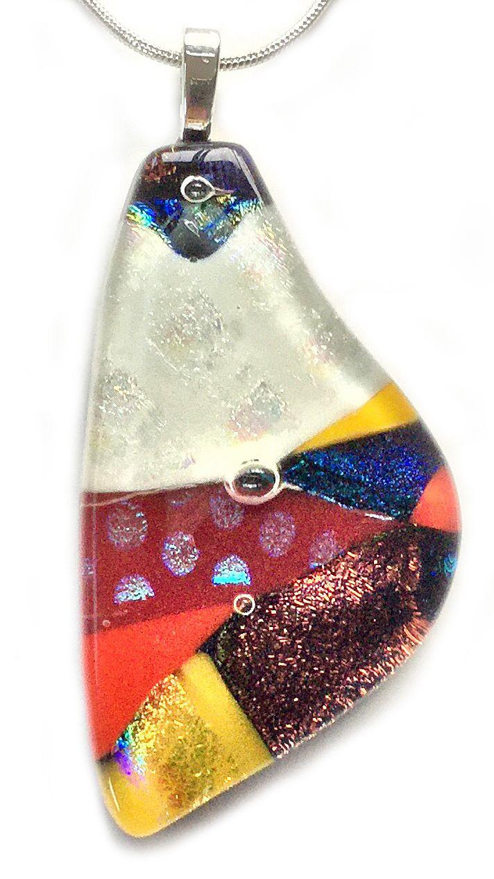 Opalescence You can Fly Butterfly Pendant Shards Glass Studio www.shardsglass.com https://www.facebook.com/ShardsGlassStudio?fref=ts