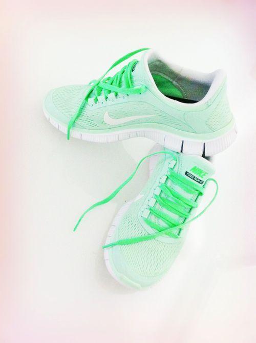 Nike Free Run 5.0 New Green/White, $48.67 @ Estyhots.com