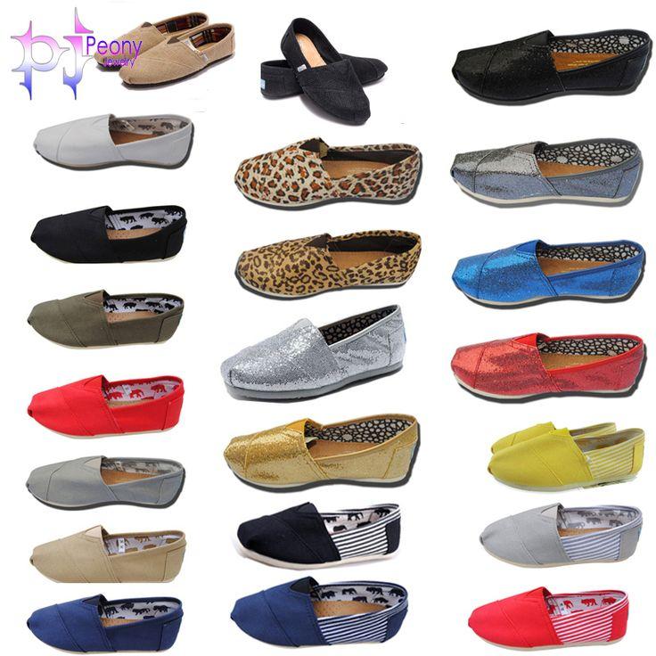Hot Sales Homens Mulheres Moda Casual Canvas Shoes preguiçosos Alpercatas respirável sapatilhas à moda TM005 $11,11