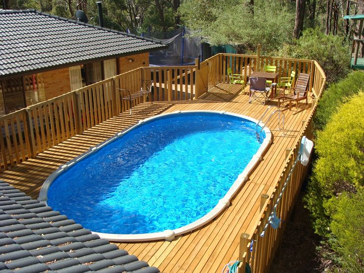 33 best images about above ground swimming pools on - Beautiful above ground pools ...
