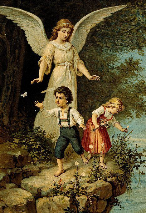 A Prayer to Your Children's Guardian Angels