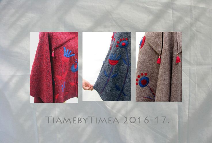 http://de.dawanda.com/shop/Tiame https://www.etsy.com/shop/tiamebytimea?ref=pr_shop_more https://www.facebook.com/tiamebytimea/ #2016-17 fall-Winter# coat#poncho#pullover#jacket#wool#needlefelt#flowers#color trend#TiamebyTimea#handmade#design#lanacotta#red#grey#blue#beige#walkloden#designer mode#
