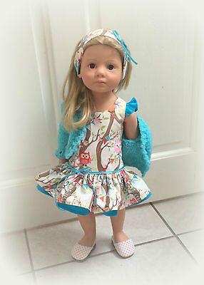 "18""/20"" doll outfit#pixiefairepattern#jellybeansoup#cardipatterndebonairdesigns#hairbandmydesign!"