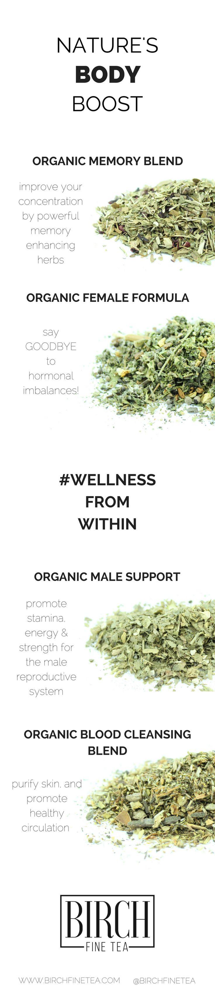 Naturally balance female hormones, improve circulation and boost mental alertness!