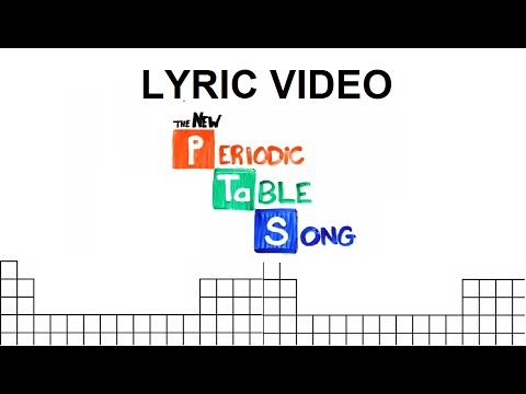 The NEW Periodic Table Song (Updated) - YouTube