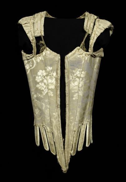 Grand corps dont il manque la pièce de devant??? Indiqué comme Corps à baleine de déguisement de costume régional espagnol | Paris Musées