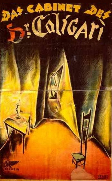 poster from The Cabinet of Dr. Caligari