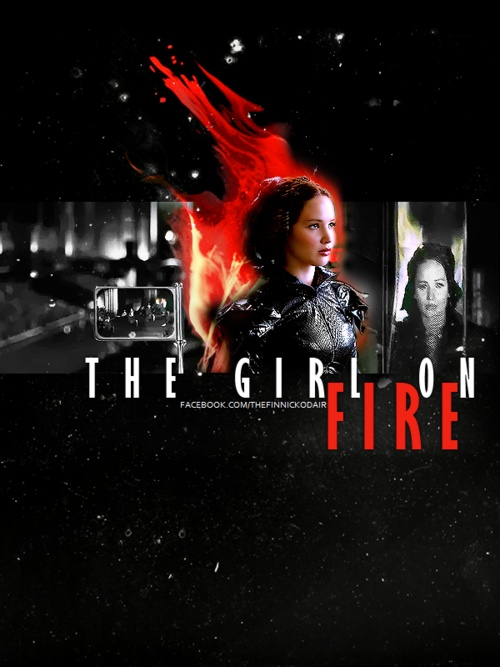 Katniss, the girl on Fire