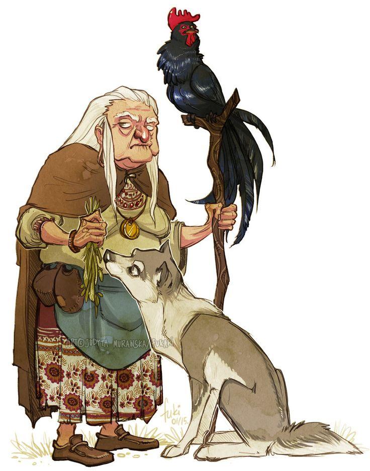 The Russian Folklaw Of Baba Yaga