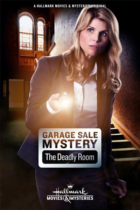 """Another good mystery... with another being released in September!! Yippee!!!-  Its a Wonderful Movie - Your Guide to Family Movies on TV: Lori Loughlin stars in """"Garage Sale Mystery: The Deadly Room"""" on Hallmark Movies & Mysteries"""