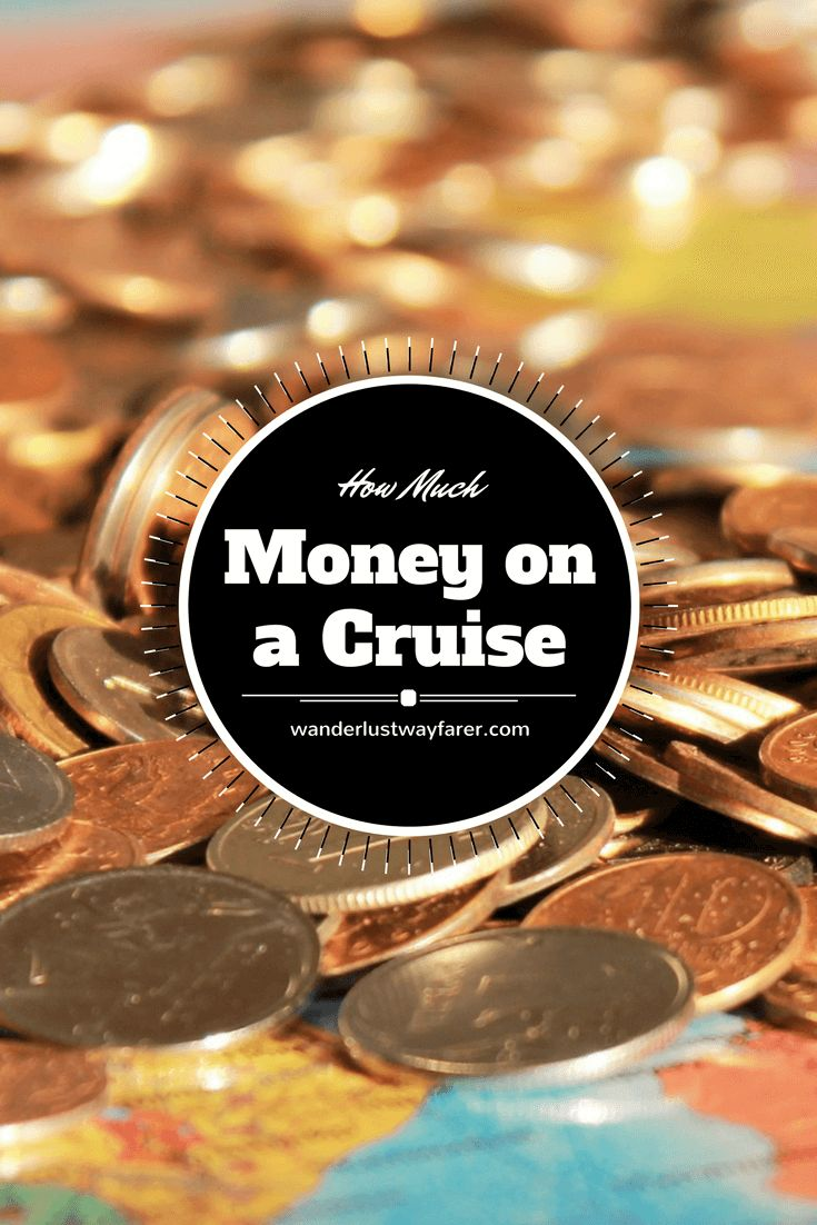 Wondering how much money to bring on a #cruise? check out this handy guide. #cruiseship #budget #holidays