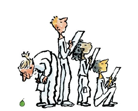 Quentin Blake ~ The big draw