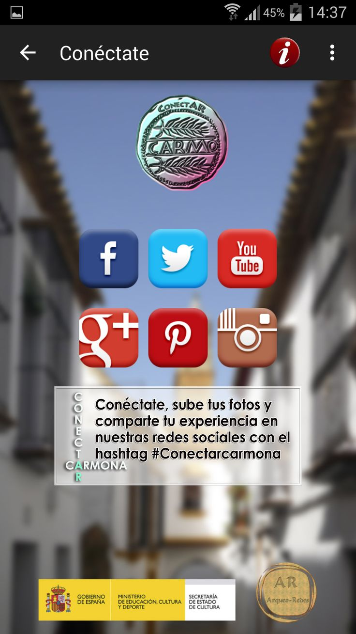 Sube tus fotos con #CONECTARCARMONA