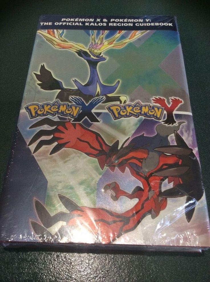 Pokemon X & Pokemon Y: The Official Kalos Region Guidebook Brand New…
