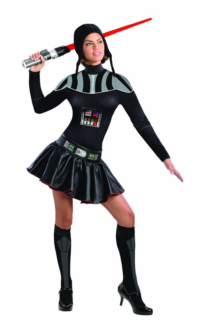 Halloween 2013: Star Wars Female Darth Vader Costume