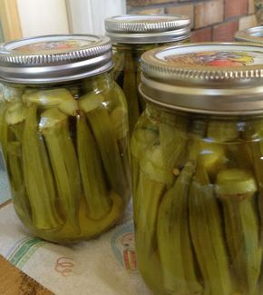 canning pickled okra ball blue book