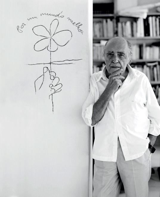 El papel del arquitecto será luchar por UN MUNDO MEJOR, donde pueda hacer una arquitectura que sirva a todos y no sólo a un grupo de hombres privilegiados. Oscar Niemeyer, 2004. Brazilian architect.