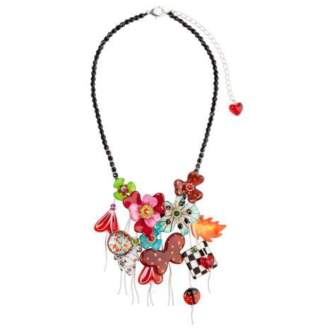 Necklace Meadow flowers