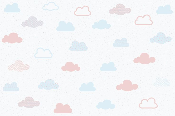 Create an incredibly serene and charming space for your child in their bedroom with our Soft Pastel Cloud Pattern Wall Mural. This design features a pattern of cute clouds in blue, pink and purple pastel colours, gently floating in a toned white sky. Due to the minimal nature of this wallpaper, it can make a room of...  Read more