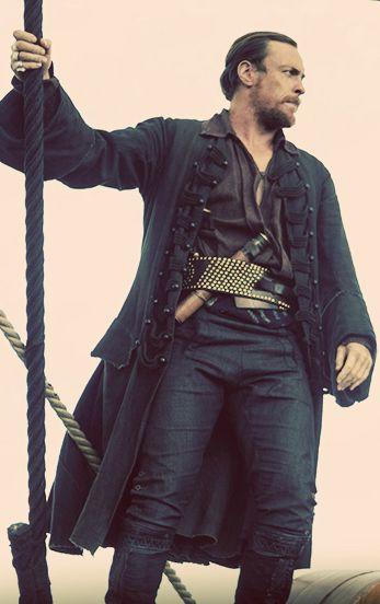 Toby as Captain Flint