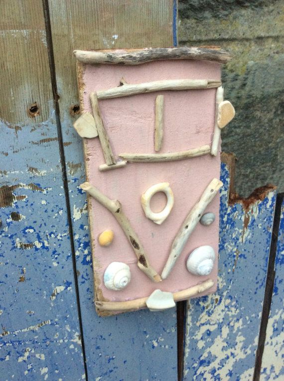 Driftwood Campervan Campervan Retro Decor by DaisysDriftwood