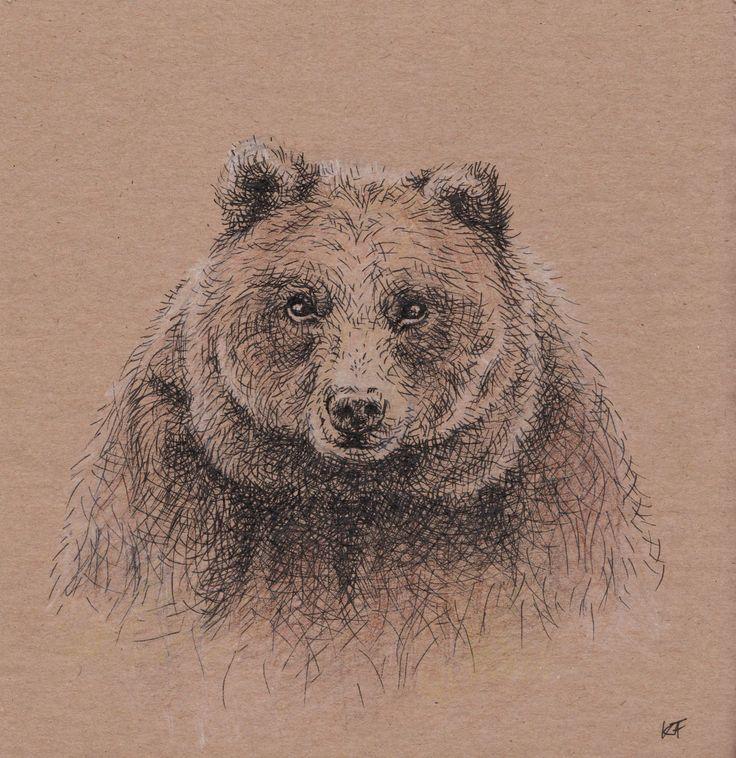 Bear by Fruzsina Kuhari. If You like it ;) : http://nuvango.com/fruzsinakuhari