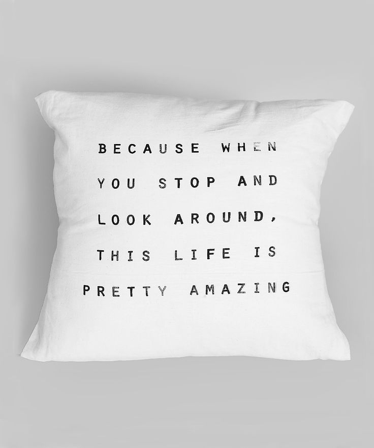 'Pretty Amazing' Pillow | zulily