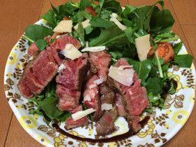 絶品☆牛ヒレ肉のタリアータ