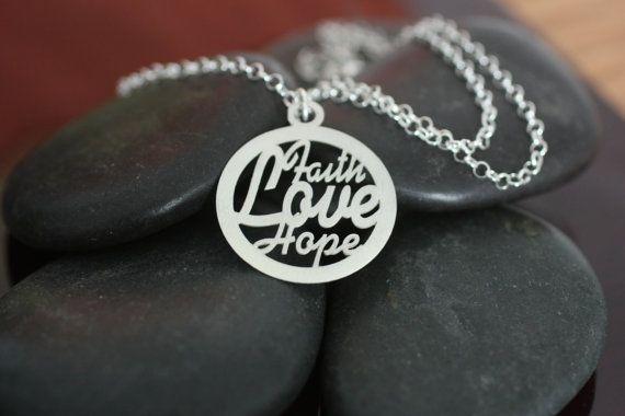 Faith Hope Love - these three - greatest is Love!