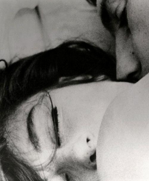 Anouk Aimée& Jean-Louis Trintignant in Un Homme et une Femme,1966, director Claude Lelouch