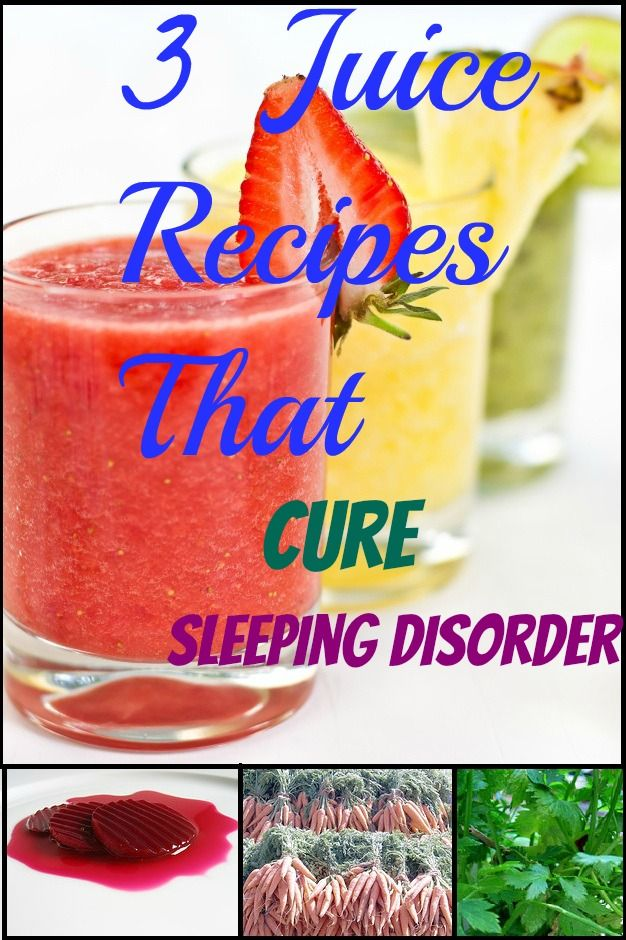 3 Recipes For Juices That Will Help You Sleep Better Than Ever!! http://www.stanshealth.com/2007/10/juicy-powerhow-to-fight-sleeping.html